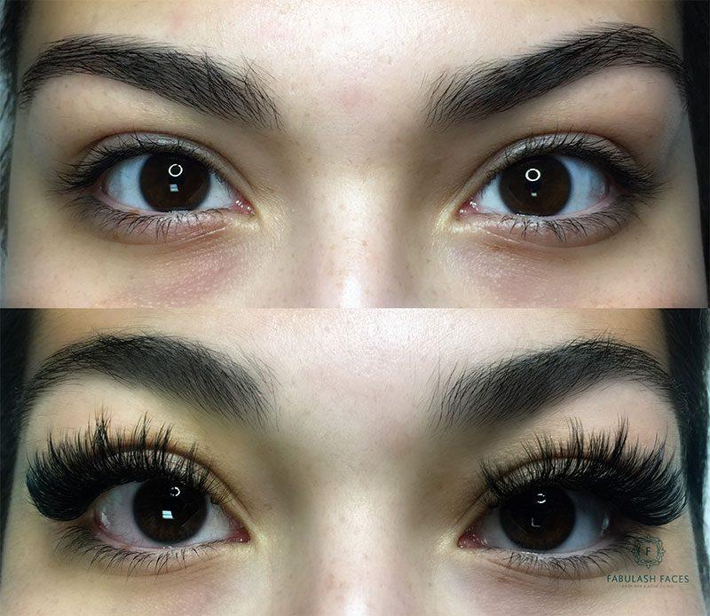 Fabulash Faces Eyelash Extensions - Skincare studio